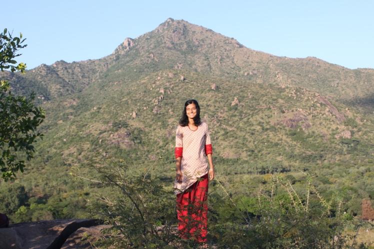 me and arunachala 2012